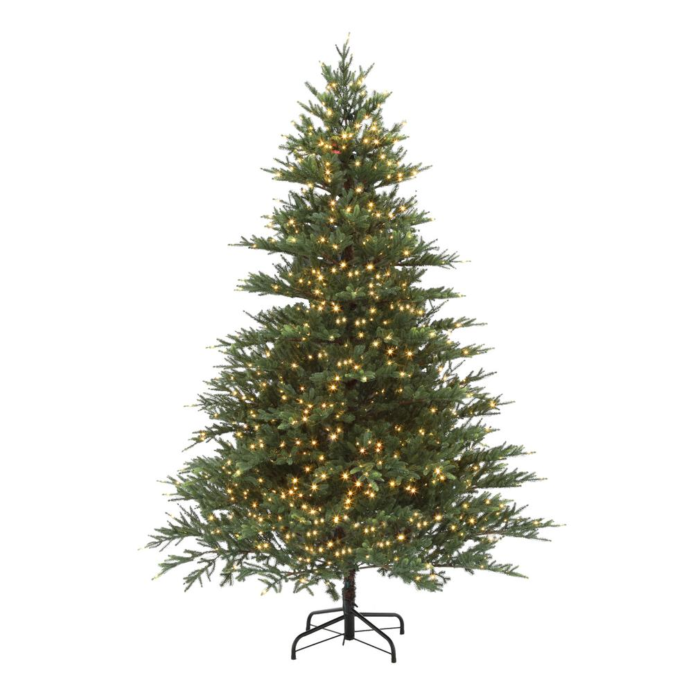 Home Accents Holiday 7.5 Ft. Pre-Lit LED 9-Function Quick