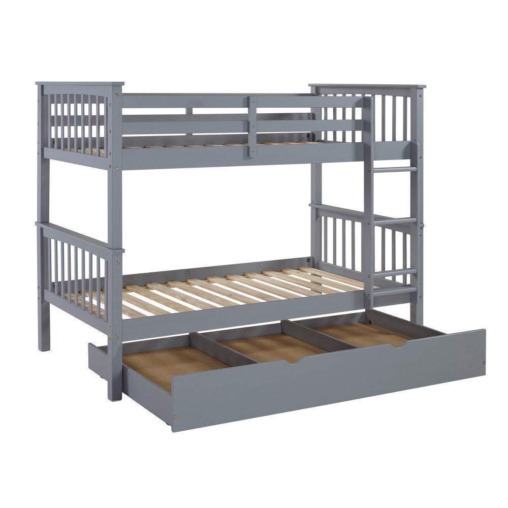 Bunk Bed Kids Furniture Kids Baby Furniture The Home Depot