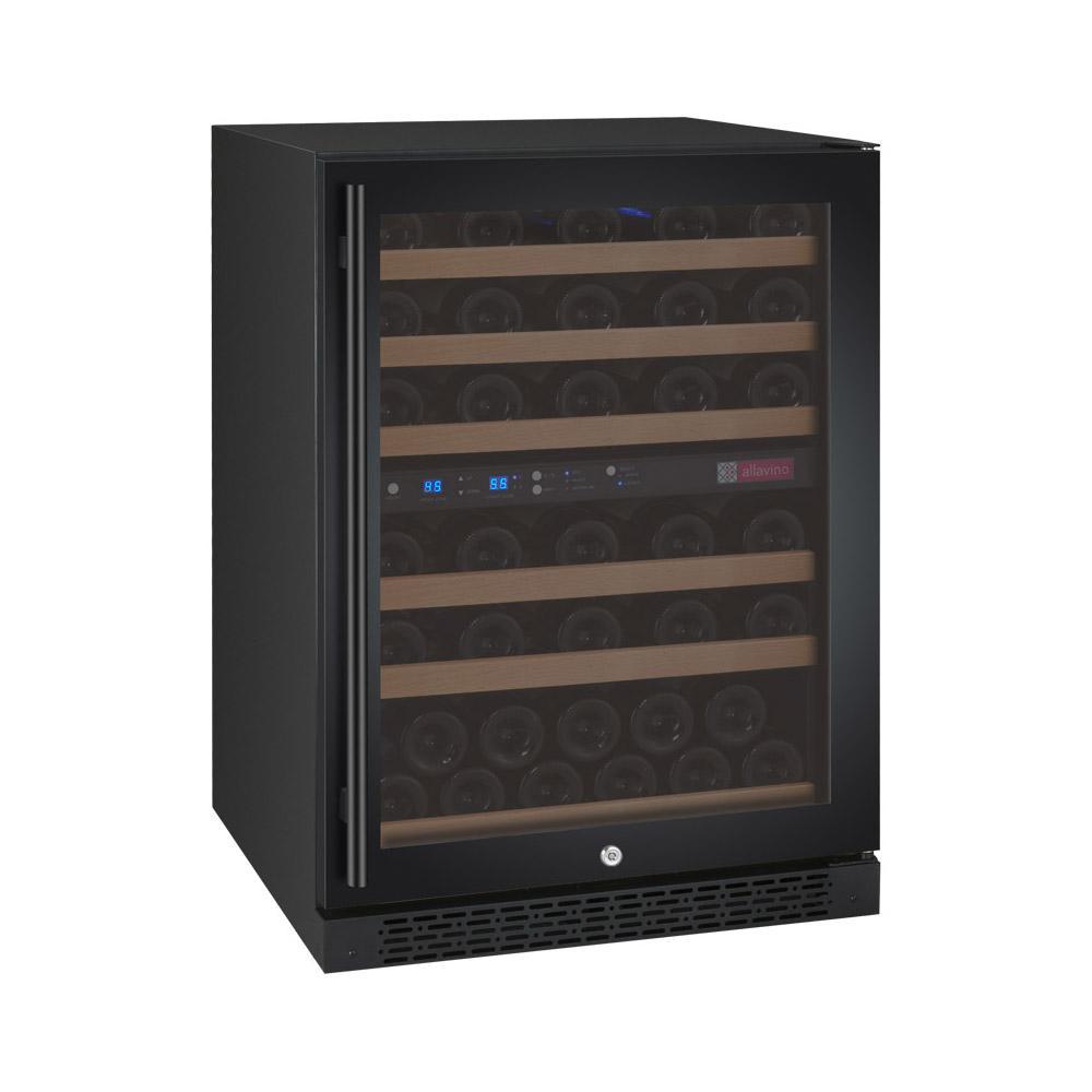 FlexCount Series 56-Bottle Dual Zone Convertible Wine Cellar