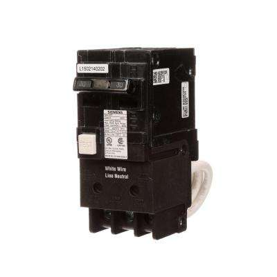30 Amp Double Pole Type QPF2 GFCI Circuit Breaker