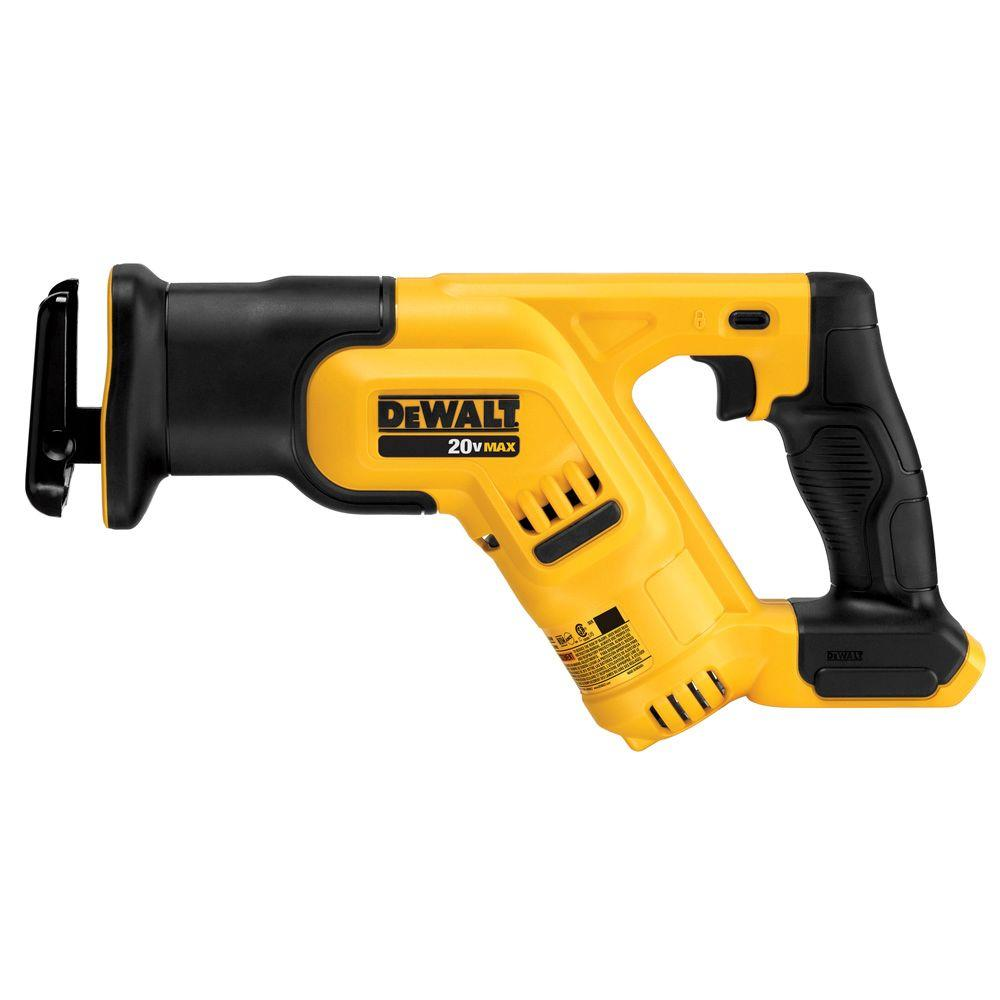 DEWALT 20-Volt MAX Lithium-Ion Cordless Compact Reciprocating Saw (Tool-Only)