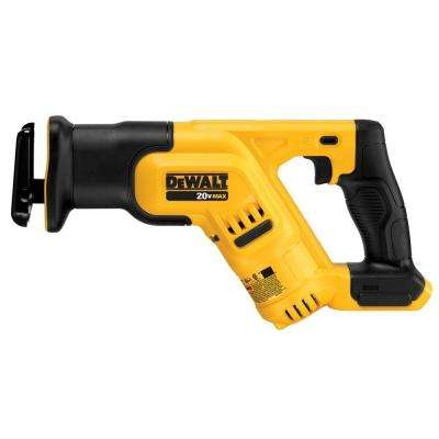 20-Volt MAX Lithium-Ion Cordless Compact Reciprocating Saw (Tool-Only)