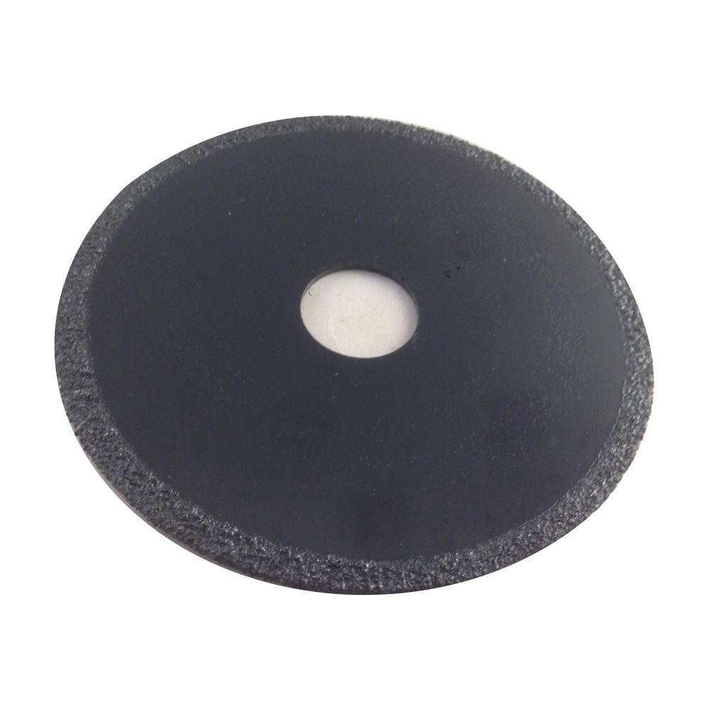 4 in. Diameter 25/32 in. Arbor Coarse Grit Carbide Grit Circular