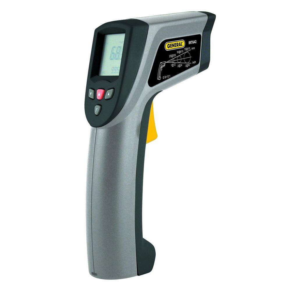 General Tools Wide Range Infrared Thermometer with K Port