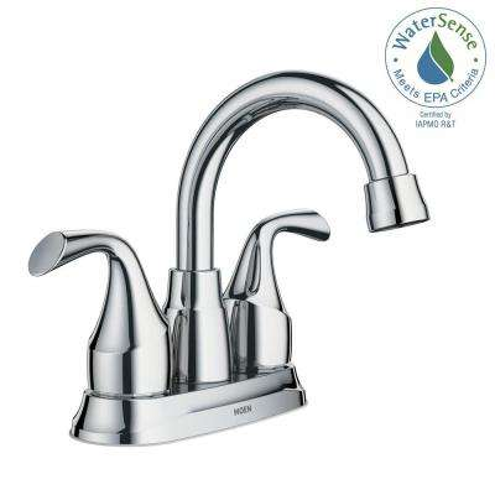 Idora 4 in. Centerset 2-Handle Bathroom Faucet in Chrome