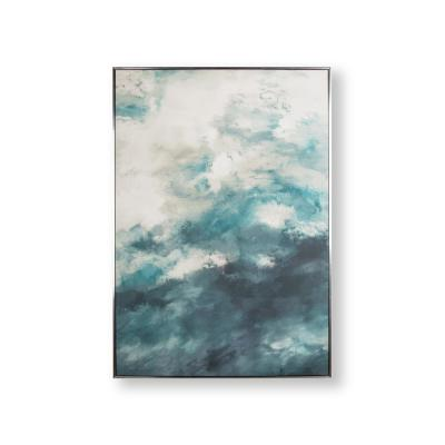 Abstract Skies Framed Canvas Wall Art