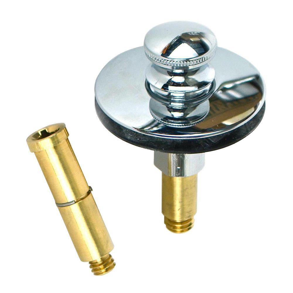 Watco Push Pull Bathtub Stopper With 3 8 In To 5 16 In