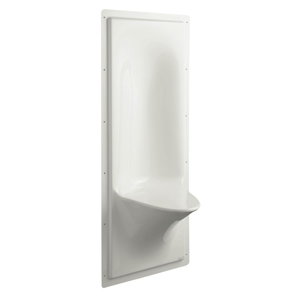 KOHLER Echelon Shower Seat in Ice Grey