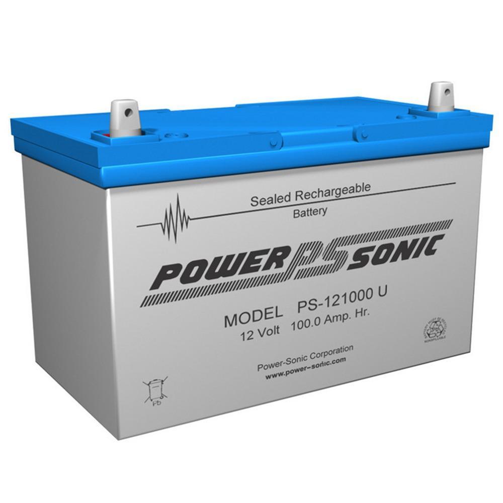 12-Volt 100 Ah Sealed Lead Acid (SLA) Rechargeable Battery