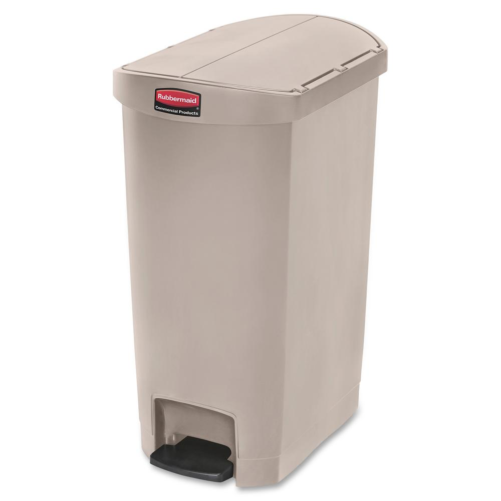 Rubbermaid Commercial Products 28 4 In H X 13 5 W Gal Beige