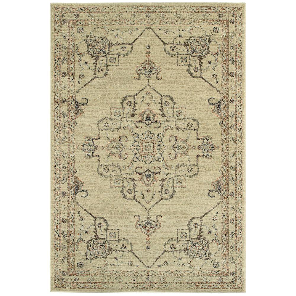 Home Decorators Collection Antiquity Neutral 7 Ft. 10 In. X 10 Ft. Area