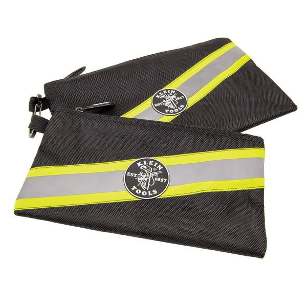 Tradesman Pro 10 in. High Visibility Zipper Tool Bag (2-Pack)