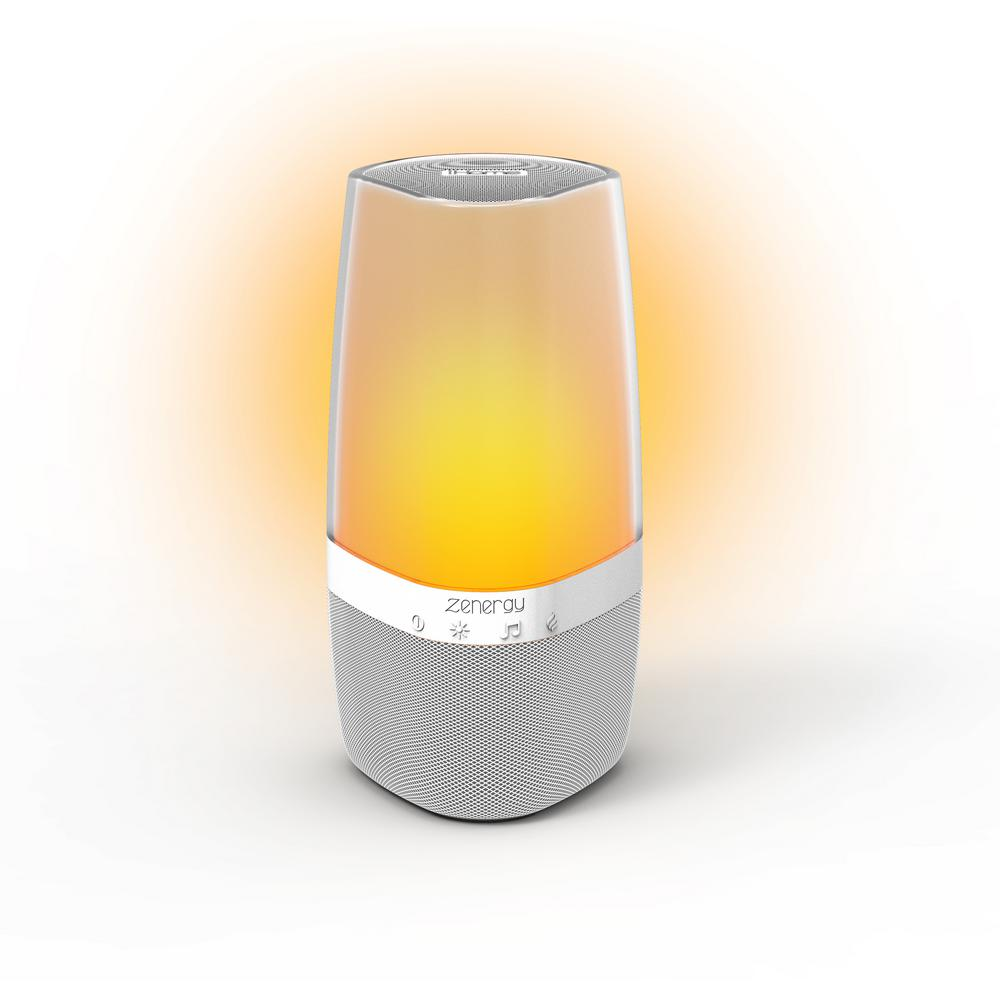 iHome Zenergy Bluetooth Speaker with Combination of Light, Sound and Aromatherapy includes Remote Control -  IZABT50W