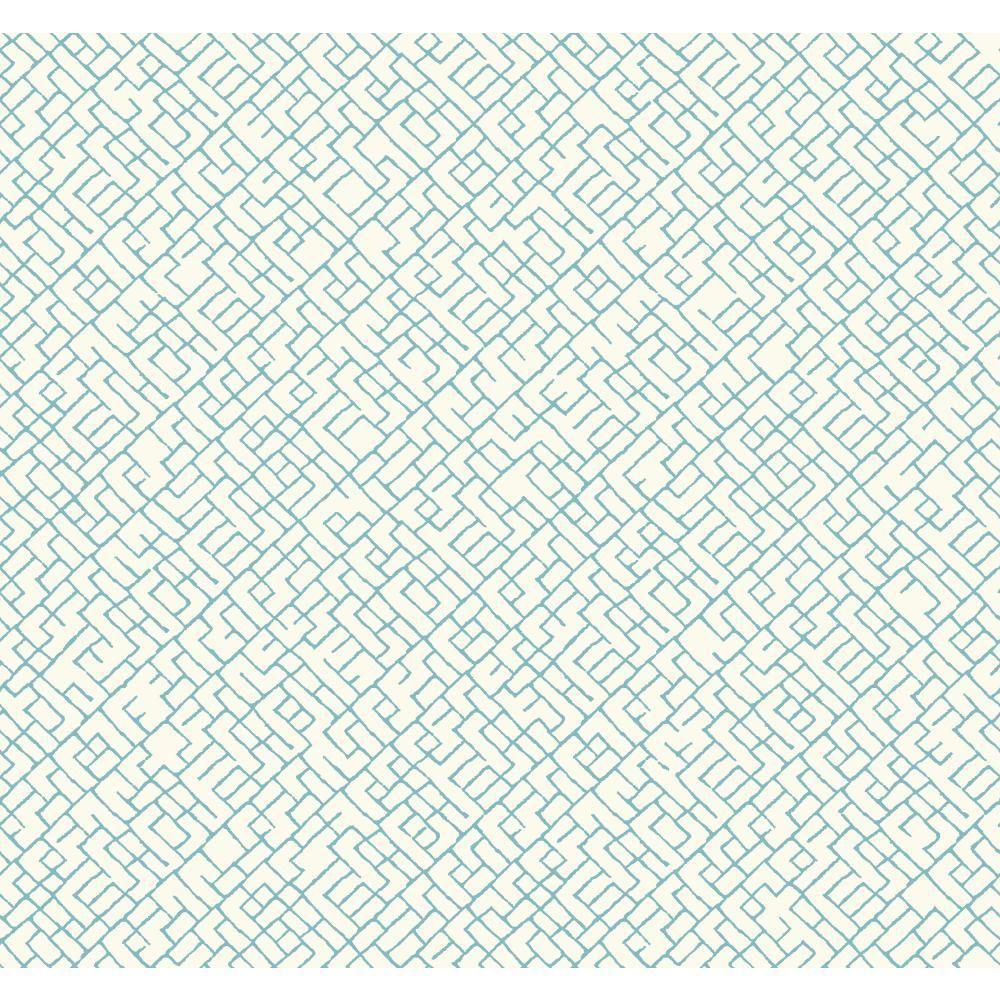 York Wallcoverings Modern Shapes Mason Wallpaper MS6441