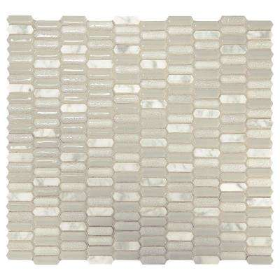 Premier Accents Linen Picket 11 In X 12 8 Mm Stone And