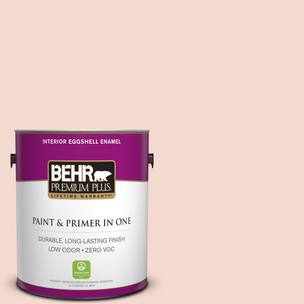 1-gal. #200E-1 Possibly Pink Zero VOC Eggshell Enamel Interior Paint
