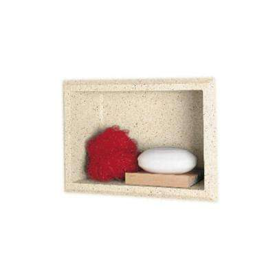 4-1/8 in. x 7-1/2 in. x 10-3/4 in. Recessed Accessory Shelf in Tahiti Desert