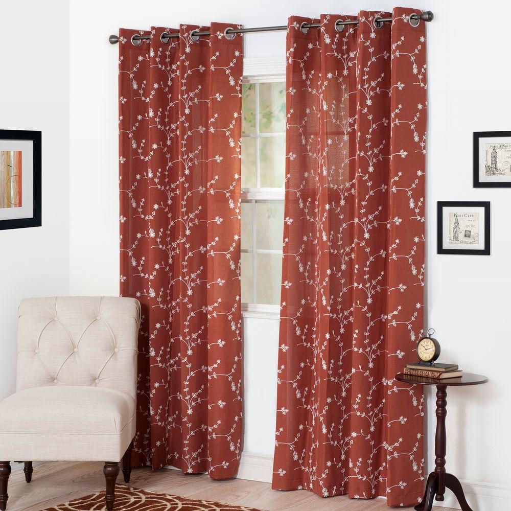Semi Opaque Inas Curtain