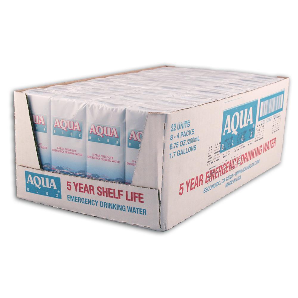 200 ml. Aqua Box (32-Pack)