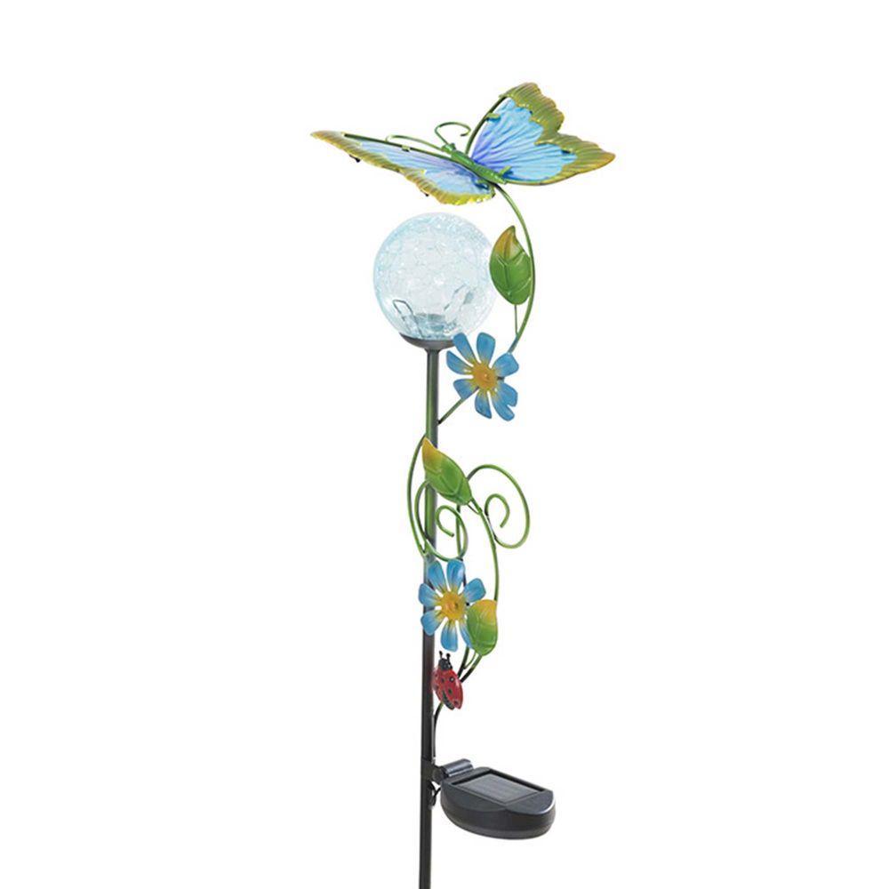 Butterfly LED Solar Garden Stake