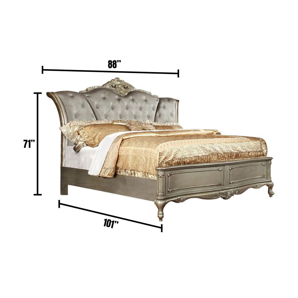 Gold Johara California King Bed