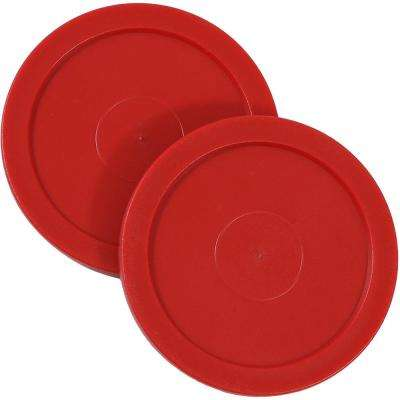 2.5 in. Replacement Air Hockey Game Table Pucks (2-Pack)