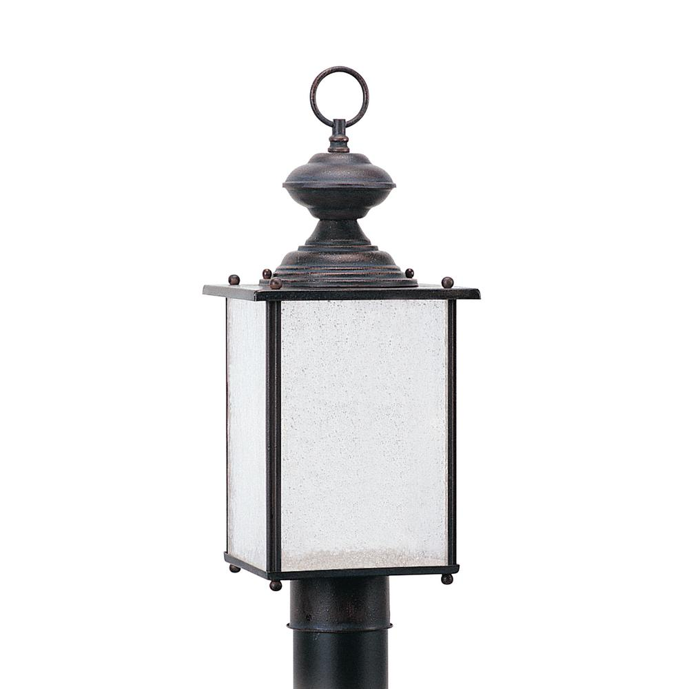 Jamestowne Outdoor Wall Light: Sea Gull Lighting Lancaster 3-Light Outdoor Polished Brass