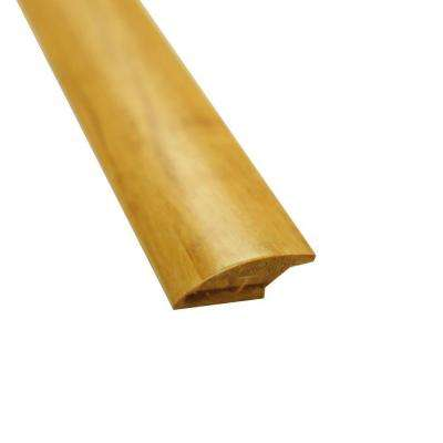 Natural 7/16 in. Thick x 2 in. Wide x 72-3/4 in. Length Strand Bamboo Lap Reducer Molding