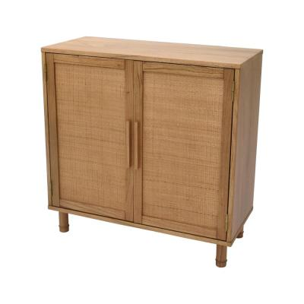 Delancey Light Blond 2-Door Cabinet
