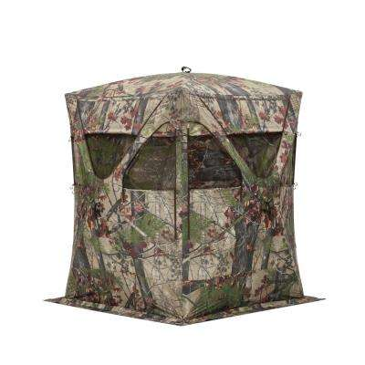 Big Mike Pop-Up Portable Hunting Blind in Backwoods Camo