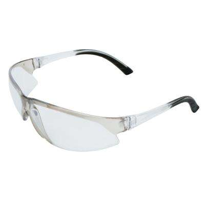 Superbs Eye Protection Clear/Silver Temple/Frame and Clear Lens