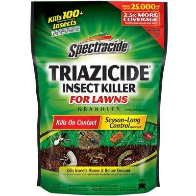 20 lbs. Triazicide Lawn Insect Killer Granules