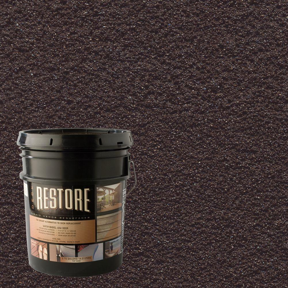 Restore Deck Liquid Armor Resurfacer 4 Gal. Water Based Bark Exterior Coating-DISCONTINUED