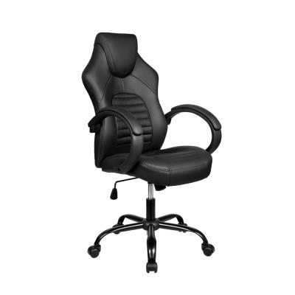 Black Ergonomic Racing Style Office Chair