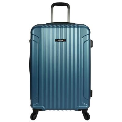 Akron 25 in. Hardside Spinner Luggage Suitcase, Teal