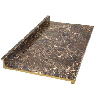 Marvelous Marbella Laminate Countertop In Breccia Nouvelle 494852M6   The Home Depot