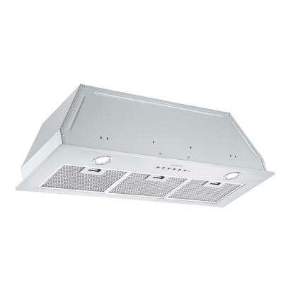 Inserta III 36 in. Ducted Insert Range Hood in Stainless Steel with LED and Night Light Feature