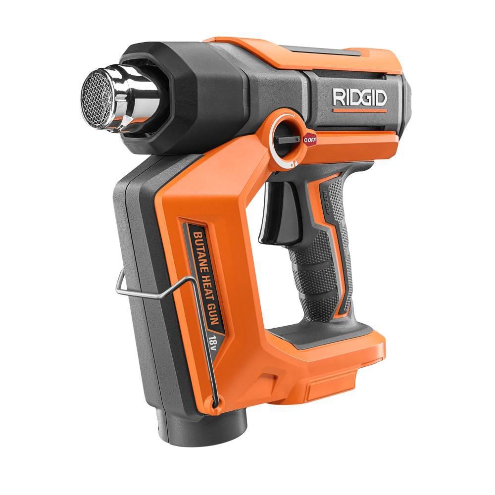 RIDGID 18-Volt Cordless Butane Heat Gun