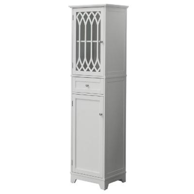 Valletta 17 in. W Storage Tower - Linen Cabinet