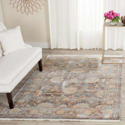 Vintage Persian Light Brown/Multi 5 ft. x 7 ft. 6 in. Area Rug