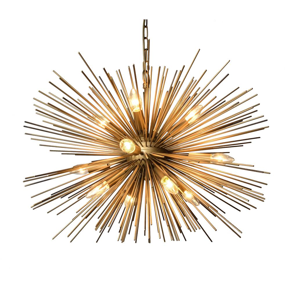 Y decor 12 light gold chandelier lz3330 12 the home depot y decor 12 light gold chandelier aloadofball Choice Image