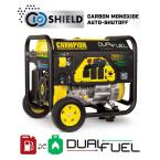 6250-Watt Gas and Propane Powered Dual-Fuel Portable Generator with CO Shield Technology