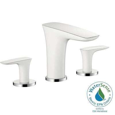 White/Chrome - Bathroom Faucets - Bath - The Home Depot