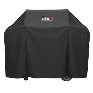 weber genesis ii 3 burner premium gas grill cover 7130 the home depot. Black Bedroom Furniture Sets. Home Design Ideas