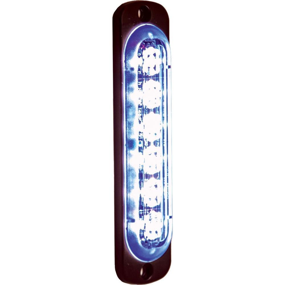 LED Blue Vertical Strobe Light