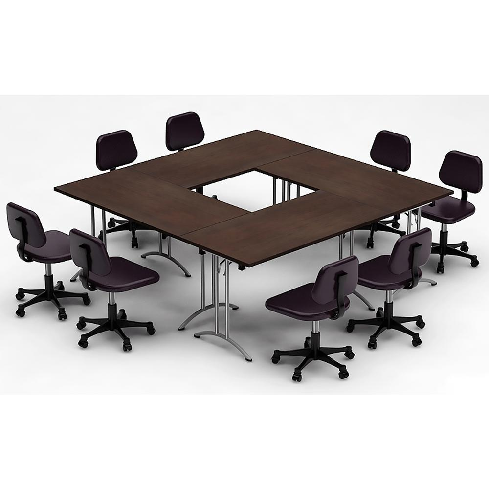 TeamWORK Tables Piece Color Java Conference Tables Meeting Tables - Cheap conference table chairs