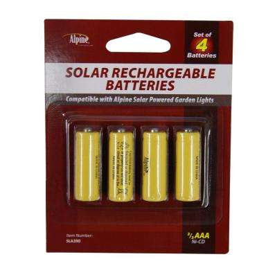 120 MAH Replacement 2/3 AAA NI-CD Batteries
