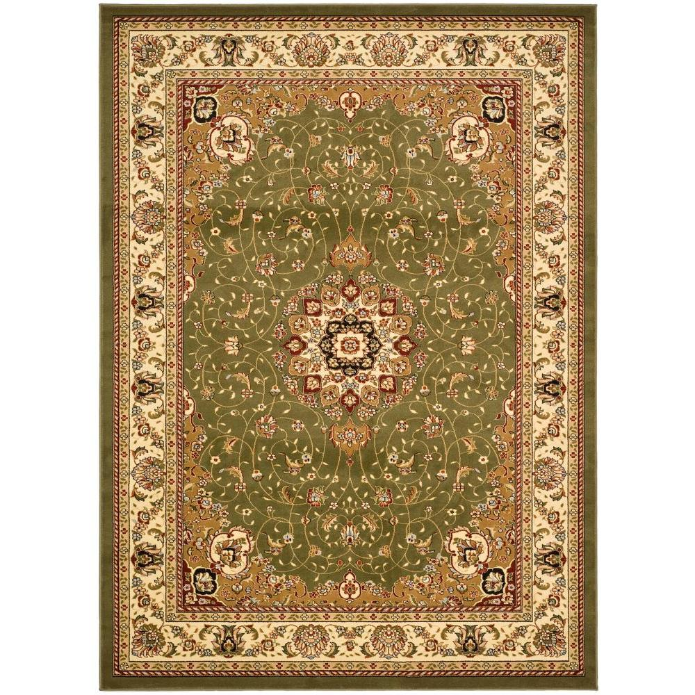 Safavieh Lyndhurst Sage Ivory 8 Ft 11 In X 12 Ft Area