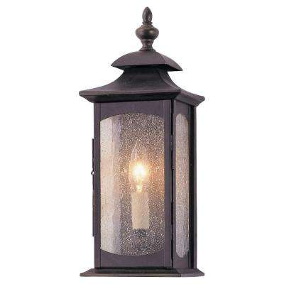 Market Square Oil Rubbed Bronze Outdoor Wall Fixture