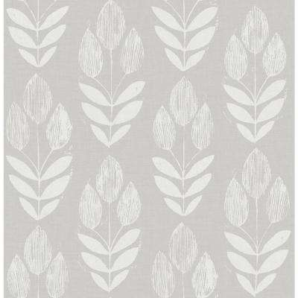 56.4 sq. ft. Garland Dove Block Tulip Wallpaper